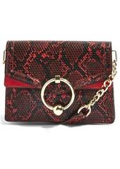 Topshop topshop selina snake effect crossbody bag abvba1906fa a