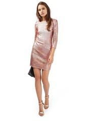 Topshop Sequin Body-Con Minidress