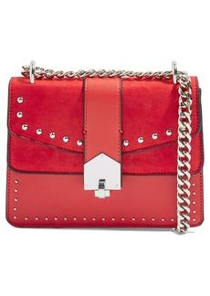 Topshop Shelby Stud Crossbody Bag