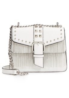 Topshop Shelby Studded Faux Leather Crossbody Bag