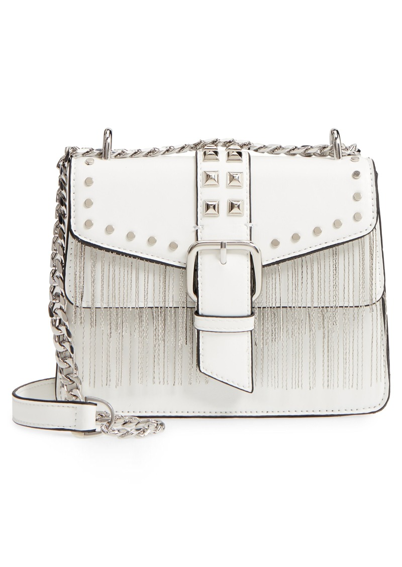a7698937160c Topshop Topshop Shelby Studded Faux Leather Crossbody Bag | Handbags