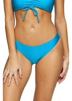Topshop Shiny Classic Bikini Bottoms