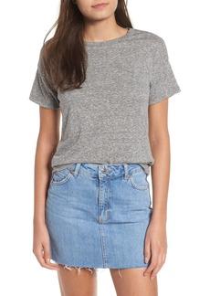 Topshop Short Sleeve Marl T-Shirt