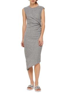 Topshop Side Drape Maxi Dress