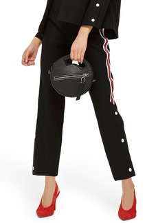 Topshop Side Stripe Popper Trousers