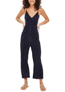 Topshop Side Stripe Slouch Jumpsuit