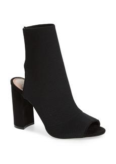 Topshop Sister Block Heel Sock Bootie (Women)