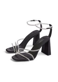 Topshop Sky Diamonte Ankle Strap Sandal (Women)