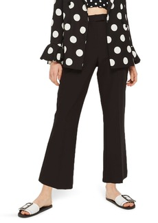 Topshop Slim Kick Flare Trousers