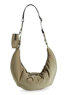 Topshop Sling Crossbody Bag - Green