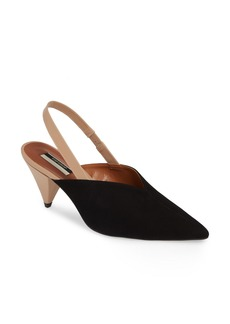 Topshop Slingback Pointy Toe Pump (Women)