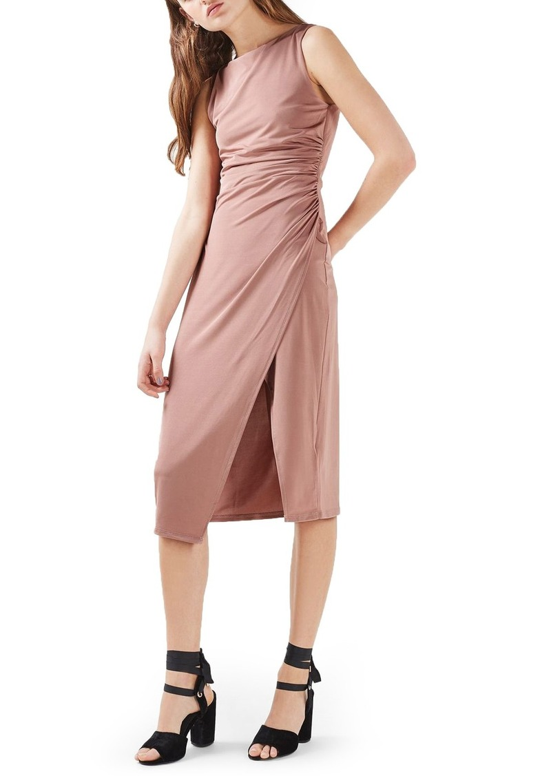 304b2fb3aafe Topshop Topshop Slinky Midi Dress | Dresses