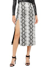 Topshop topshop snake print faux leather midi skirt abvaa89c0c9 a