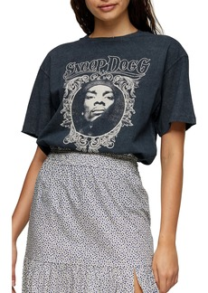 Topshop Snoop Dogg Face Women's Graphic Tee