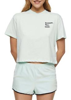 Topshop Snooze You Lose Short Pajamas