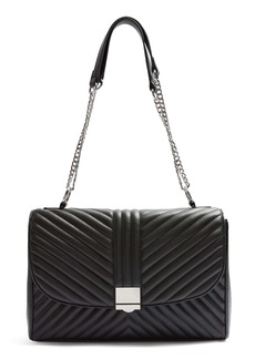Topshop Sofia Quilted Faux Leather Shoulder Bag