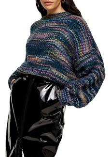 Topshop Space Dye Sweater