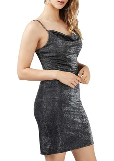 Topshop Sparkle Body-Con Dress