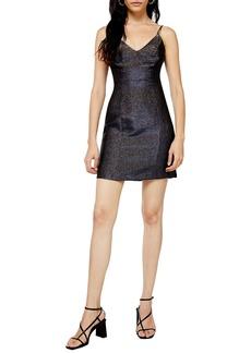 Topshop Sparkle Minidress
