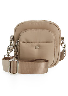 Topshop Square Crossbody Bag - Beige