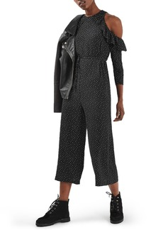 Topshop Star Cold Shoulder Jumpsuit