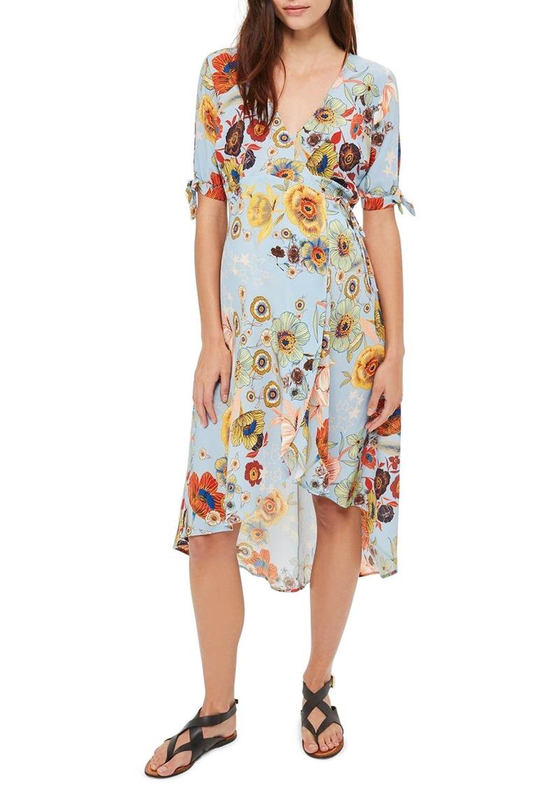 Topshop topshop star floral maternity wrap dress dresses shop topshop star floral maternity wrap dress ombrellifo Images