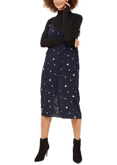 Topshop Star Print Slipdress