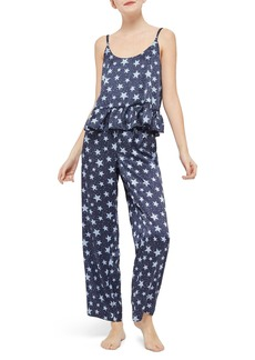 Topshop Star Satin Pajamas