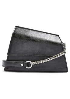 Topshop Star Snakeskin Print Shoulder Bag