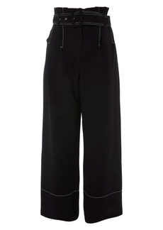 Topshop Stitch Buckle Trousers
