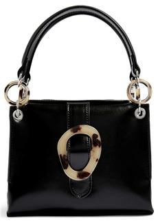 Topshop Storm Buckle Shoulder Handbag