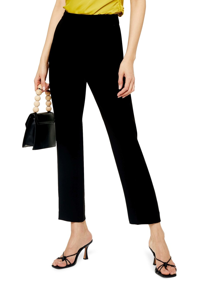 Topshop Straight Leg Cigarette Pants (Regular & Petite)