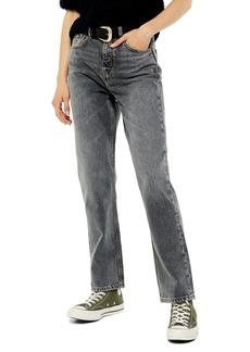 Topshop Straight Leg Editor Jeans (Regular & Tall)