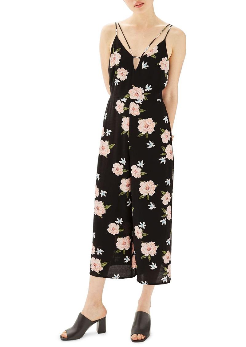f09ae714e89a SALE! Topshop Topshop Strappy Floral Jumpsuit