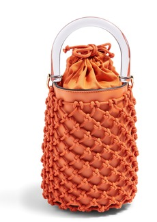 Topshop String Bucket Bag