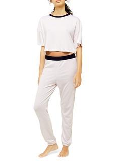 Topshop Stripe Boxy Pajamas