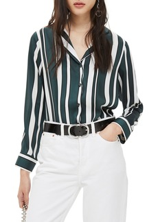 Topshop Stripe PJ Shirt