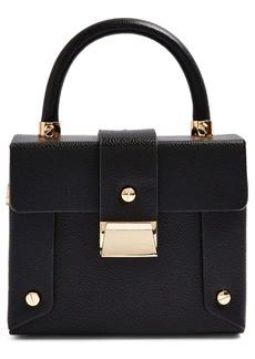 Topshop Strobe Faux Leather Handbag