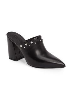 Topshop Studded Flared Heel Mule (Women)