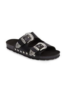 Topshop Studded Slide Sandal (Women)