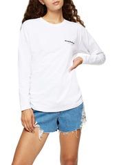 Topshop Sun Solar Long Sleeve Skater T-Shirt