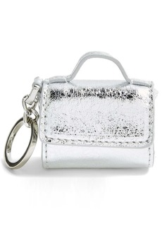 Topshop Super Micro Faux Leather Bag Charm