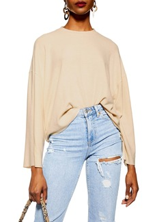 Topshop Super Soft Ribbed Sweater