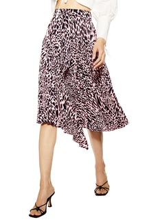 Topshop Taylor Pleat Midi Skirt (Regular & Petite)