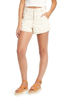 Topshop Tibet High Waist Denim Shorts
