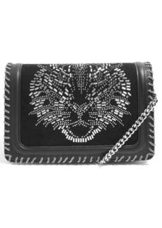 Topshop Tiger Stud Shoulder Handbag