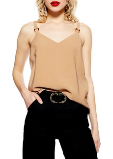 Topshop Tilda Ring Camisole Top