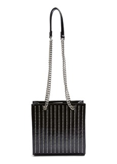 Topshop Toff Studded Faux Leather Tote