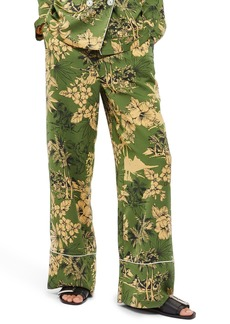 Topshop Tropical Pajama Trousers
