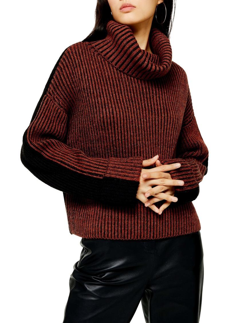 Topshop Turtleneck Sweater